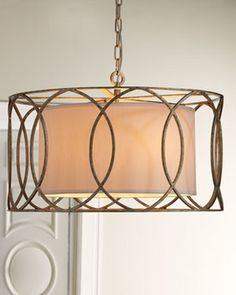 $855.  Sausalito Five-Light Chandelier - traditional - chandeliers - Horchow