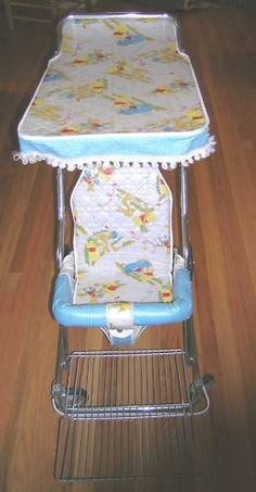 baby stroller.early 80s omg I know I used to be pushed around in these back in the day by my parents. <3 long live the 80's :)