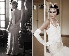 Atmosfere anni '20 per un matrimonio vintage