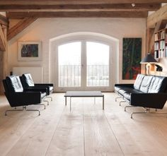 Wide plank wood floors. Woca oil finish.  www.wocausa.com