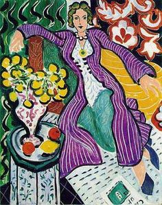 This is my absolute favorite enri Matisse, Woman in a Purple Coat...I have a print of this, just need a frame