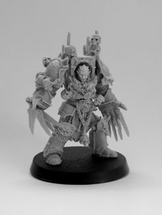 Page 2 of 2 - Count Mannfred, Night Lord in Terminator Armour - posted in + WORKS IN PROGRESS +: Absolutely amazing! Thats the best Night Lords terminators Ive ever seen! Warhammer 40k Figures, Warhammer Art, Warhammer Models, Warhammer 40k Miniatures, Chaos 40k, Chaos Lord, The Grim, Space Marine, Sci Fi Fantasy