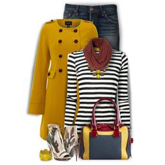 A fashion look from January 2015 featuring Proenza Schouler t-shirts, Lands' End coats and NSF jeans. Browse and shop related looks.