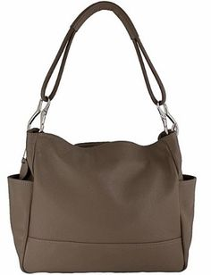 74485c5dd8e8 5% OFF EXTRA ON ANY HANDBAG!! Genuine Italian Leather Handbags Etasico  Shelly Taupe