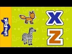 Letters X and Z - Phonics Song by Little Fox