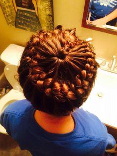 My ZoëGirl! Cute braid