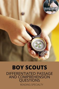 The Boy Scouts of America was incorporated February 8, 1910. Read about the history of the Boy Scouts. Use the questions in standardized test format to check comprehension and help students prepare for high-stakes testing. Middle School History, Middle School Grades, High School, High Stakes Testing, Standardized Test, Scouts Of America, Reading Comprehension Passages, February 8, Differentiation