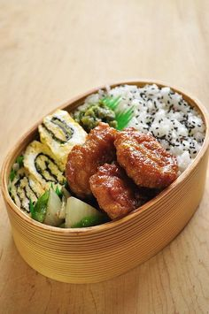 Healthy lunch with love to my husband: Nugget teriyaki lunch