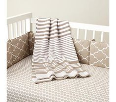 The khaki and gray would be a good neutral foundation for a nursery.