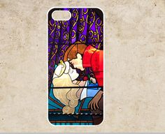 iPhone 4 Case Sleeping Beauty Kiss iPhone 4 Case,Stained Glass iPhone 4 4g 4s Hard Case,cover skin case More styles for you choose