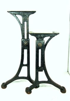 11 best cast iron table legs images cast iron table legs pipe rh pinterest com