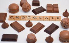 Scrabble Tiles Spelling Chocolate