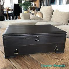Chocolate Silverware Chest Milk Paint Furniture, Painted Furniture, Home Decor Kitchen, Diy Home Decor, Beachy Colors, Paint Stripper, Homestead House, Pine Chests, Painted Chairs