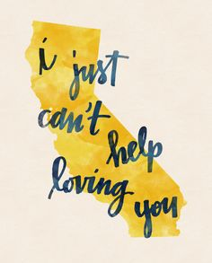 California print by penmeetpaper on Etsy, $16.00