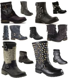 Style FIles Moto Boots Must have's, 2013 Moto boots musts,