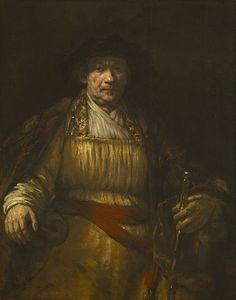 Self-Portrait, Rembrandt, 1658, Oil on Canvas