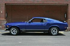 "The very popular Camrao A favorite for car collectors. The Muscle Car History Back in the and the American car manufacturers diversified their automobile lines with high performance vehicles which came to be known as ""Muscle Cars. Ford Mustang 1969, Mustang Fastback, Mustang Cars, Ford Gt, Ford Mustangs, Shelby Gt500, Blue Mustang, Classic Mustang, Ford Classic Cars"