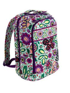 d5540dbc0744 New Viva La Vera Bradley Large Laptop Backpack Bag  verabradley Vera  Bradley Laptop Bag
