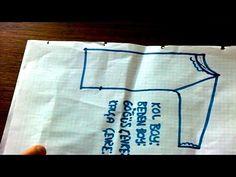 Tunik Nasıl Dikilir? Kalıplar Nasıl Çıkarılır? Detaylı Anlatım - YouTube