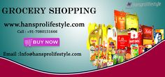 Hanspro lifestyle is best online #grocery store in #Allahabad which provides fresh #groceries and other #household essentials at competitive rate with home delivery service.
