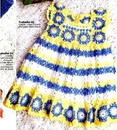 crochet dress for little girls on the summer | make handmade, crochet, craft
