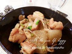 大根と鶏もも肉のバター醤油で☆炒め煮の画像