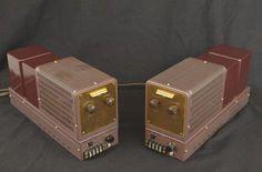 FISHER 80AZ Blocs mono Valve Amplifier, Audio Amplifier, Audiophile, Radio Design, Speaker Design, Fisher, High End Audio, Vacuum Tube, Audio Equipment