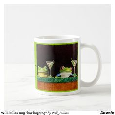 "Will Bullas mug ""bar hopping"""