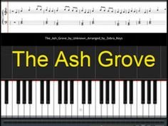 "How to play this Easy Piano traditional song, ""The Ash Grove"" http://www.zebrakeys.com/blog/2011/06/the-ash-grove/"