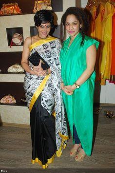 Mandira Bedi and Masaba Gupta (wah kya style hai!)