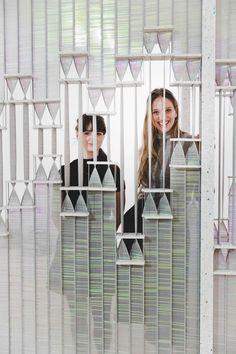 KUF Studio Puts a Twist On Window Blinds - Design Milk. Furniture, creativ, home, decor, womens. Vertical Window Blinds, Mini Blinds, Blinds For Windows, Residence Senior, Zine, Zebra Blinds, Jorn Utzon, Motorized Blinds, Partition Screen