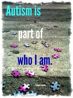The latest statistics show that one in 68 children in America has autism. But as the world shifts into gear for Autism Awareness Month -- or as some c. Aspergers Autism, Asd, Living With Autism, Autism Quotes, High Functioning Autism, I Love Someone, Autism Awareness Month, Autism Speaks, Autism Resources