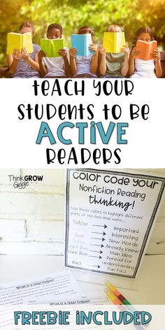 Teach your students to be alert and active readers while they read both fiction and nonfiction texts with this simple tip and FREEBIE! Click to read all about it!