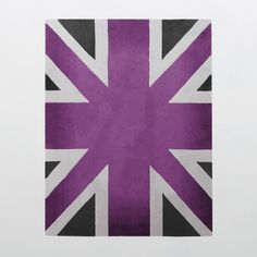Union Jack Camden Collection 100% Wool Area Rug in Assorted Colors design by Second Studio