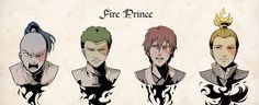 ahhh his journey as the fire prince