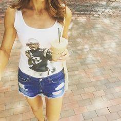 Tom Brady Tank + Coffee   Football Fashion