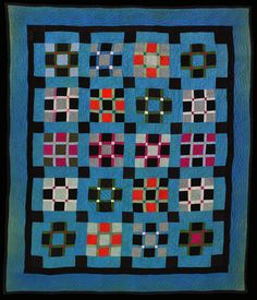Ohio Amish Quilt from the collection of Darwin D. Bearley.