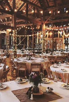 Romantic Barn Wedding Decorations ★ barn wedding decorations lighting decor starrynightbarn Create a romantic barn wedding decorations, spend some money for certains in rustic style, pay attention to lightening and of course use straw bale seating. Rustic Wedding Decorations, Wedding Ideas, Decor Wedding, Barn Party Decorations, Barn Wedding Centerpieces, Barn Wedding Inspiration, Wedding Planning, Table Wedding, Light Decorations