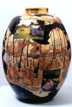 Potter Artist Grayson Perry (British: 1960)