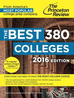 What Makes THE BEST 380 COLLEGES the Most Popular College Guide?Written for any student or parent mystified by the confusing college...