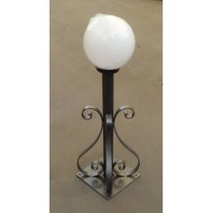 Wrought Iron Lantern. Customize Realisations. 384