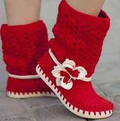 Galería: Zapatos a Crochet | CTejidas [Crochet y Dos Agujas]