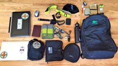 packconfig:   Loadout: Work & Play GORUCK Pack We're asking all our readers to show us the content of their packs. Here's a great submission from Drew.  Keep reading