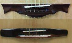 Bildresultat för guitar wood bridge