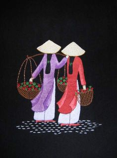 ... Handicrafts: Collection of Vietnamese Embroidery Paintings Available