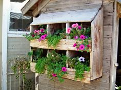 Repurpose Old Items for a Fresh New Look - 50 Vertical Garden Ideas That Will Change the Way You Think About Gardening | https://homebnc.com/best-vertical-garden-ideas-designs/  | #garden #gardening #vertical #ideas #decorating #decor #decoration #idea #home #homedecor #lifestyle  #beautiful #creative #modern #design #homebnc