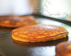 Butternut Squash Pancakes #paleo