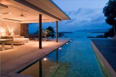 modern tropical look and feel
