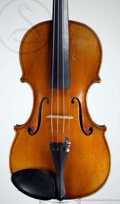 Charles J.B. Collin-Mézin Violin, Paris 1898