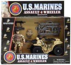 U.S.M.C Assault 4 Wheeler #toys #USMC